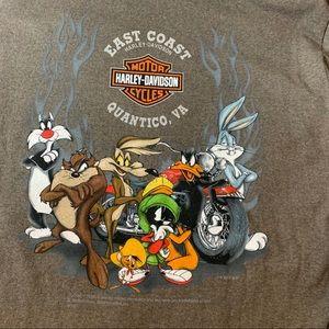 Looney Tunes x Harley Davidson Long Sleeve Medium